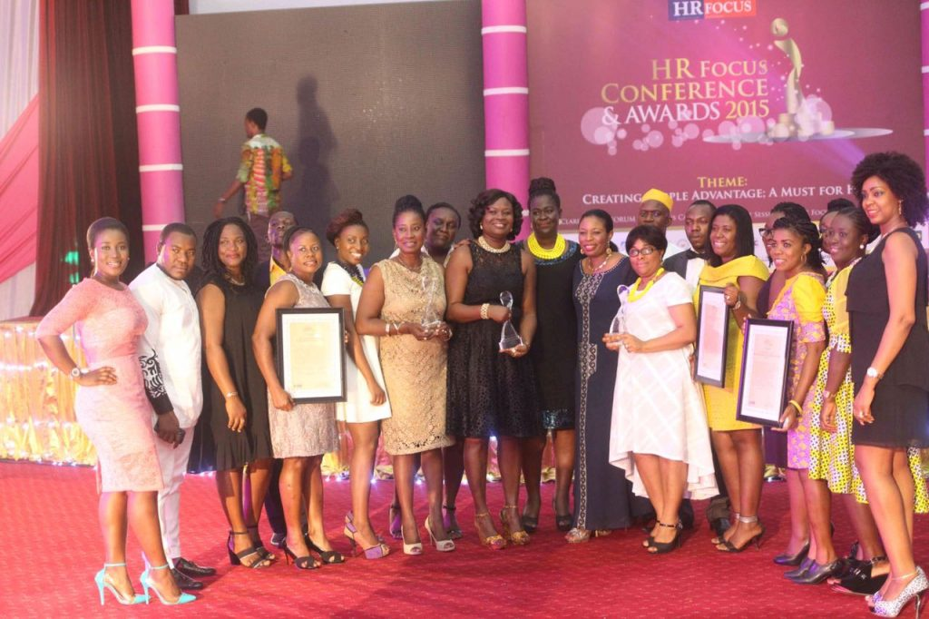 HR Focus conference and awards 2015- MTN in a pose after winning majority of awards