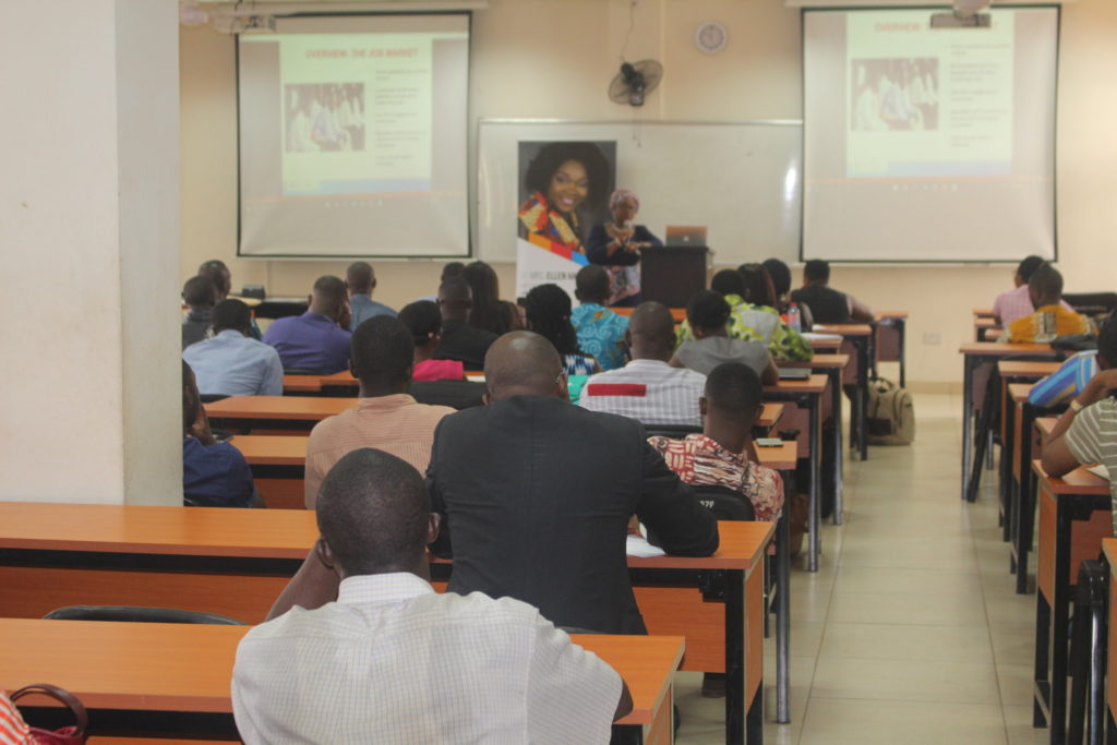 UGBS Lecture by Dr. Mrs. Ellen Hagan