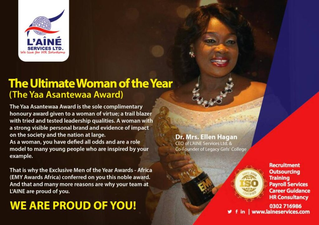 EMY AFRICA AWARDS - ULTIMATE WOMAN OF THE YEAR